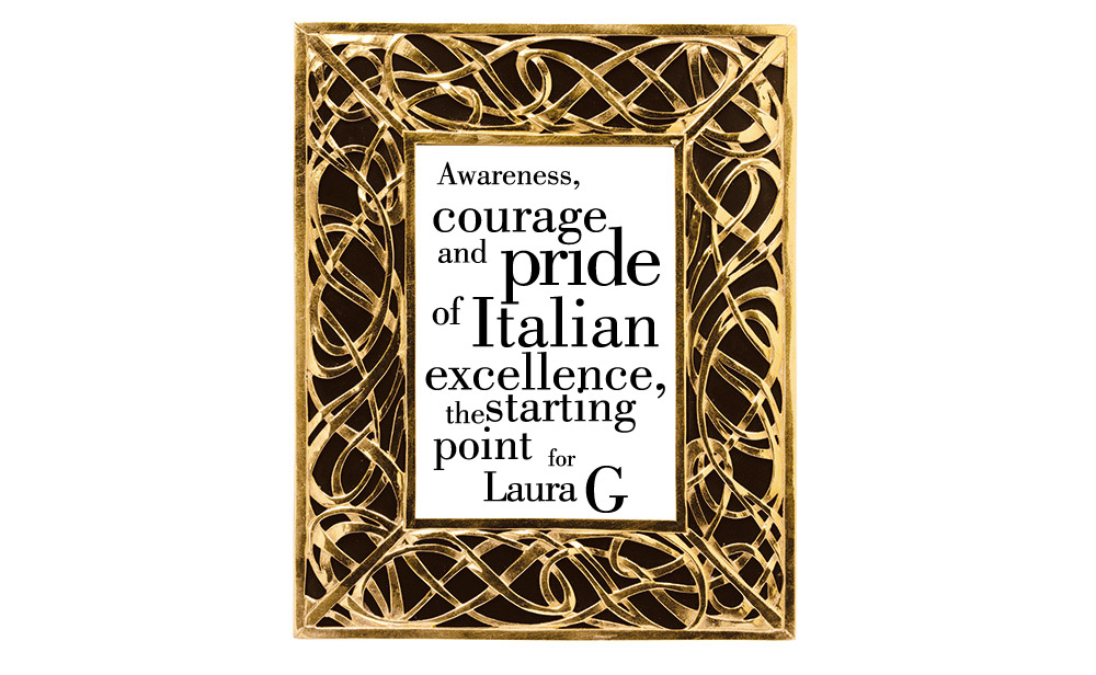 Laura G – Designer picture frames hand-made in Italy